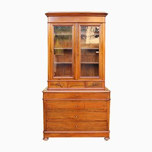Antique Walnut Showcase