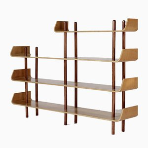 Vintage Shelf by Willem Lutjens for Gouda den Boer, 1950s