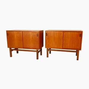 Danish Teak Sideboards by Vitré for Vitré, 1960s, Set of 2