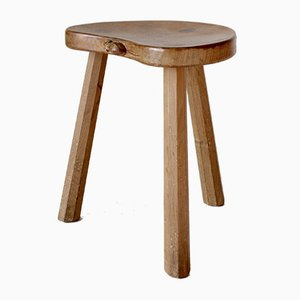 Oak Stool by Robert Thompson for Robert Thompson, 1950s