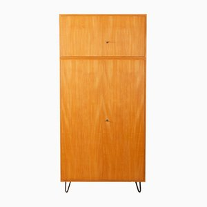 Ash Veneer Wardrobe from WK Möbel, 1950s