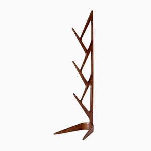 Italian Cherry Wood Coat Stand, 1950s