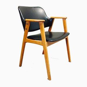 Silla de escritorio escandinava de Erik Buch, años 60