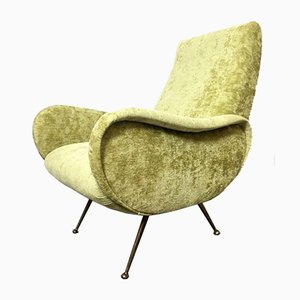 Vintage Italian Lounge Chair by Marco Zanuso, 1950s