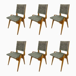 Dining Chairs by PRE Maurice, 1950s, Set of 6