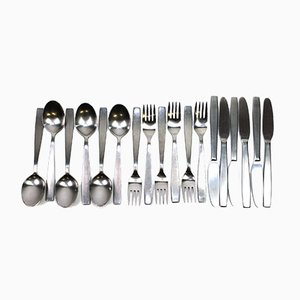 Cutlery Set by Helmut Alder for Amboss, 1954, Set of 18