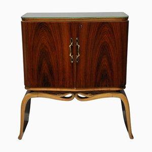 Mueble de cóctel de Osvaldo Borsani, años 40