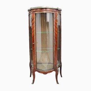Vitrina de madera real, siglo XIX