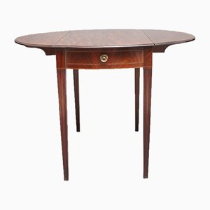 Pembroke Tisch aus Mahagoni, 19. Jh.