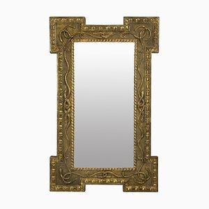 Espejo inglés Regency antiguo, década de 1820
