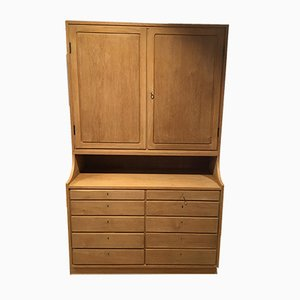 Danish Oak Cabinet, 1950s