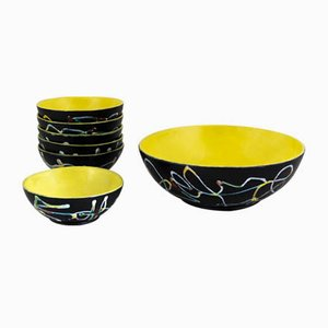Bowls from Ce.As., 1950s, Set of 7