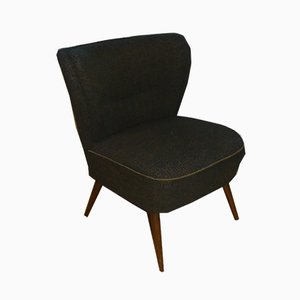 Mid-Century Olive Green Club Chair, 1950s