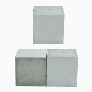 Lámparas de mesa Cubes de Joachim Ramin para Early Light. Juego de 3