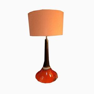 Tischlampe aus Keramik, 1960er
