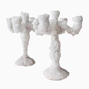 Candelabro Crystals Overgrown de Mark Sturkenboom