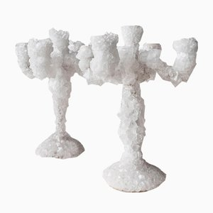 Crystals Overgrown Candleholder by Mark Sturkenboom