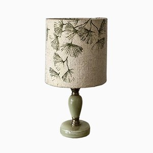 Onyx Table Lamp, 1970s