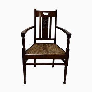 Antiker Armlehnstuhl im Jugendstil von De Coene
