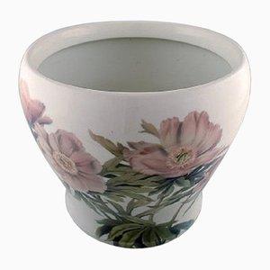 Vaso da fiori grande antico in porcellana di Bing & Grondahl