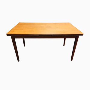 Scandinavian Extendable Dining Table, 1950s