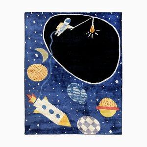 Tappeto Tencel in stile Space Ace di Daria Solak per Junior Monarch