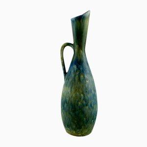 Glasierte Steingutvase von Carl-Harry Stålhane für Rörstrand, 1960er