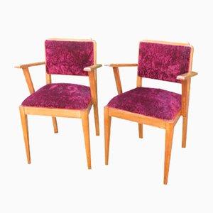 Vintage Stühle, 1940er, 2er Set
