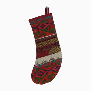 Turkish Kilim Christmas Stocking