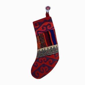 Contemporary Weihnachtsstrumpf von Vintage Kilim