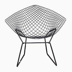 Model 421 Diamond Lounge Chair by Harry Bertoia for Knoll Inc./Knoll International, 1960s