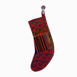 Bas de Noël en Kilim Vintage