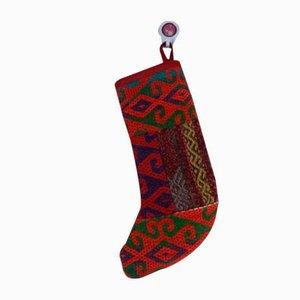 Handgemachter Kelim Weihnachtsstrumpf