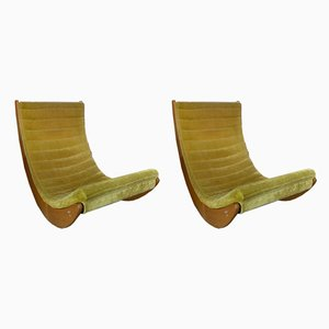 Lounge Chairs by Verner Panton for Rosenthal, 1970s, Set of 2
