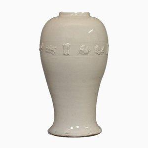 Jarrón de cerámica Celadon, siglo XIX