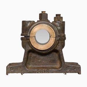 Presse-Papier Antique en Fonte et Bronze, Angleterre