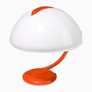 Lámpara de mesa Snake Mid-Century de Elio Martinelli para Martinelli Luce