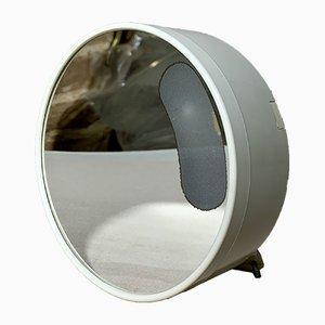 Specchio da parete vintage con luce di Makio Hasuike per Gedy, Italia