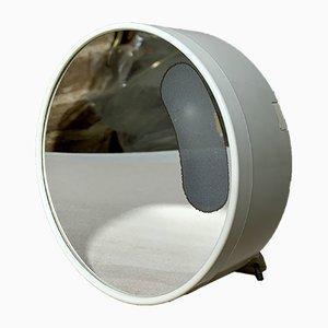 Vintage Italian Illuminated Wall-Mounted Mirror by Makio Hasuike for Gedy