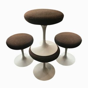 Stools by Eero Saarinen for Knoll Inc. / Knoll International, 1970s, Set of 4