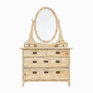 Antique Swedish Pine Dressing Table