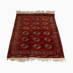 Vintage Turkmen Carpet, 1950s