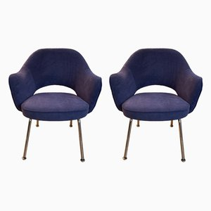 Mid-Century Lounge Chairs by Eero Saarinen for Knoll Inc. / Knoll International, Set of 2