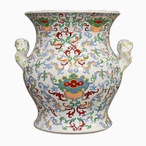 Vaso grande vintage in porcellana, anni '50