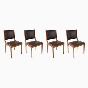 Chaises de Salle à Manger par Johanes Andersen, Danemark, 1960s, Set de 4