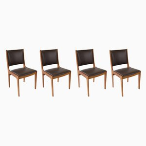 Danish Dining Chairs by Johanes Andersen, 1960s, Set of 4