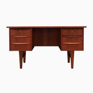Schreibtisch aus Teak, 1970er