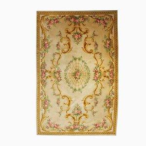 Französischer Savonnerie Teppich aus Wolle, 1920er