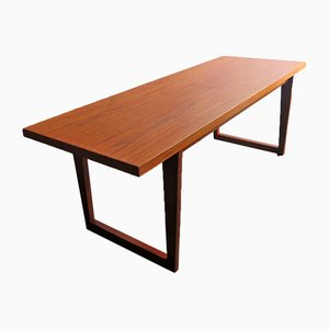 Table Basse en Teck, Danemark, 1970s