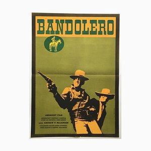 Bandolero Filmposter von Alexej Jaroš, 1969